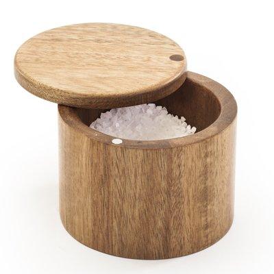 Danesco Acacia Salt Cellar