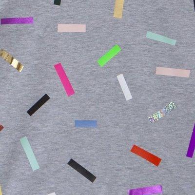 Chandail Confettis - Gris