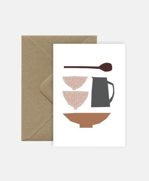 Michoucas Céramiques - Carte de souhaits