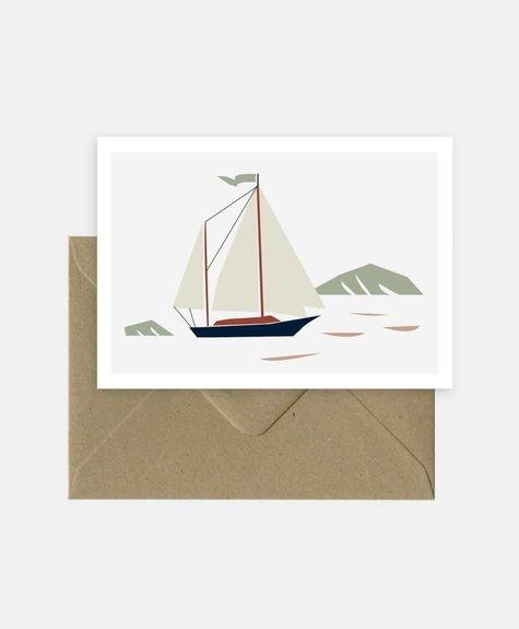 Michoucas Back home - Carte de souhaits