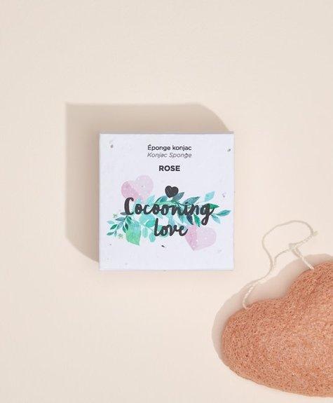 Cocooning Love Pink Konjac Sponge - Pink Clay infused