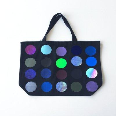 Large Totebag polka dots