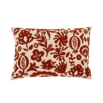 Coussin New Guinea - Rouille
