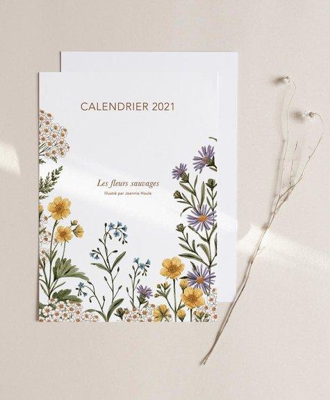 Calendrier 2021 par Joannie Houle