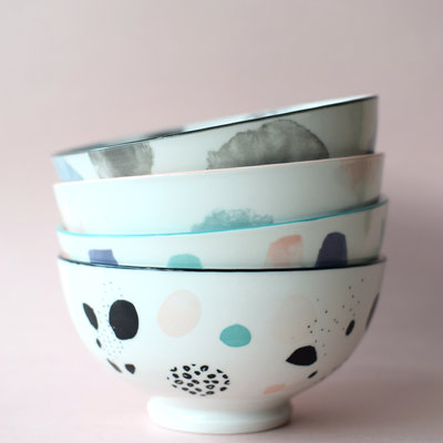 Danica Bowl Pastel (assorted) -