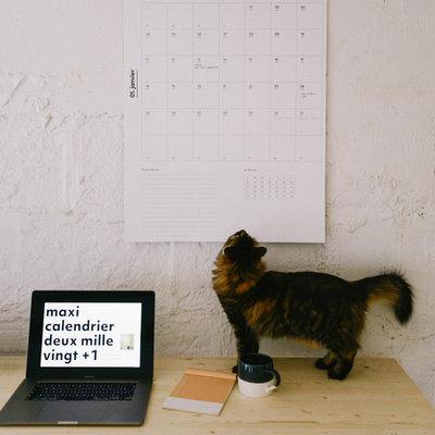 Papermiint 2021 Giant calendar
