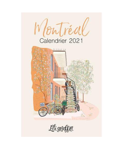 Calendrier Lili - Montréal