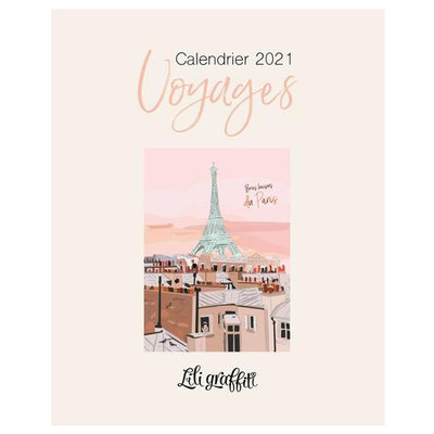 Calendrier Lili - Voyages