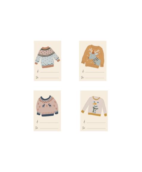Lili Graffiti Gift tags - Sweaters (8)
