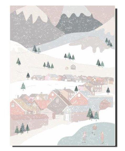 Lili Graffiti Winter landscape - Notebook Lili