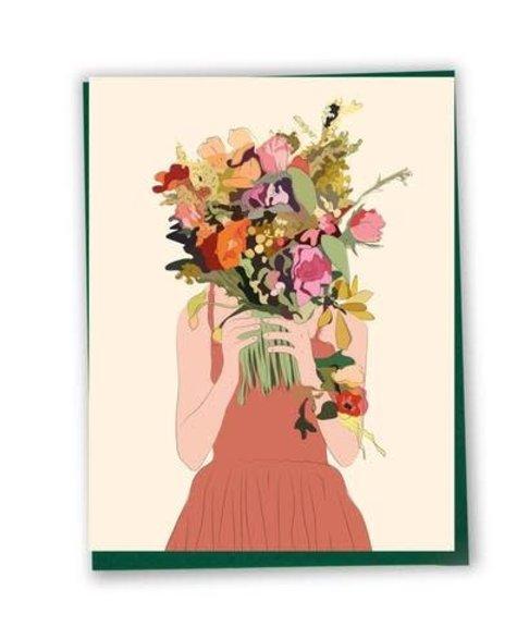 CS Lili - Femme et Bouquet