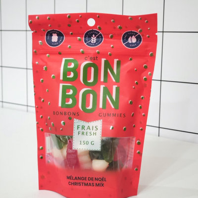 La boîte à bonbons Bonbons - Noël