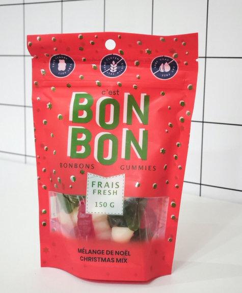 La boîte à bonbons Bonbons - Noël 150gr