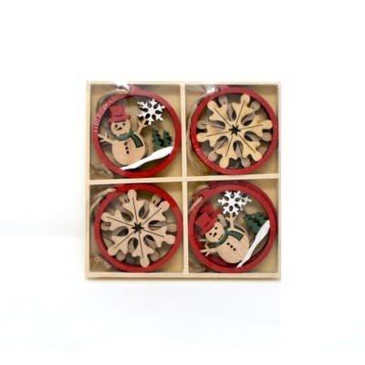 Nostalgia Ornaments set (8)