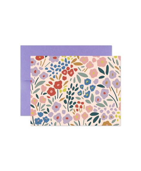 Marlone Meadow fleurs Card