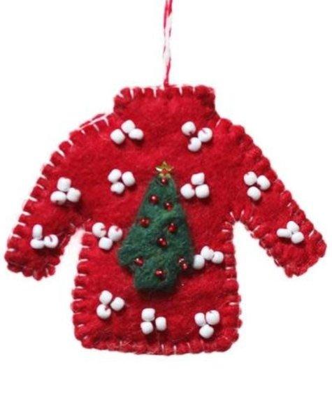 Hamro Village Sweater Ornament