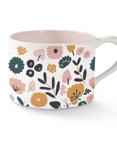 Fringe Mug morning Flowers