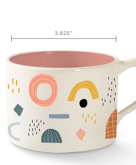 Fringe Mug morning Shapes