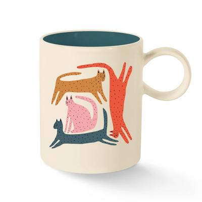 Fringe Cats mug by Jennfier B.