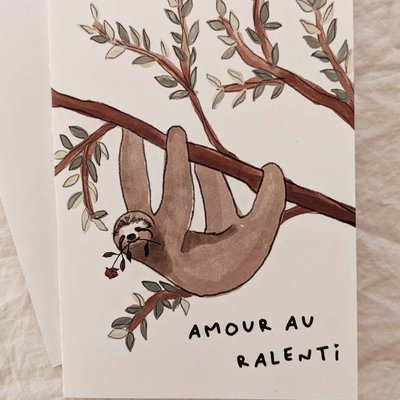 Mimi - Auguste Slow Love - greeting-card