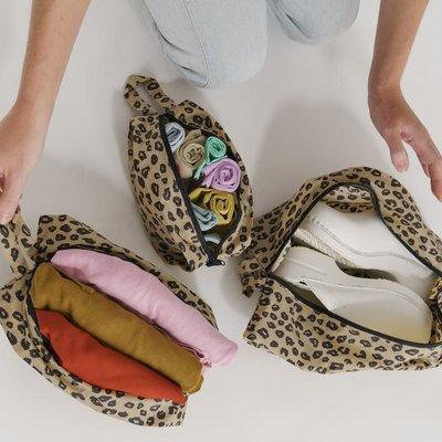 Baggu Set pochettes - Leopard