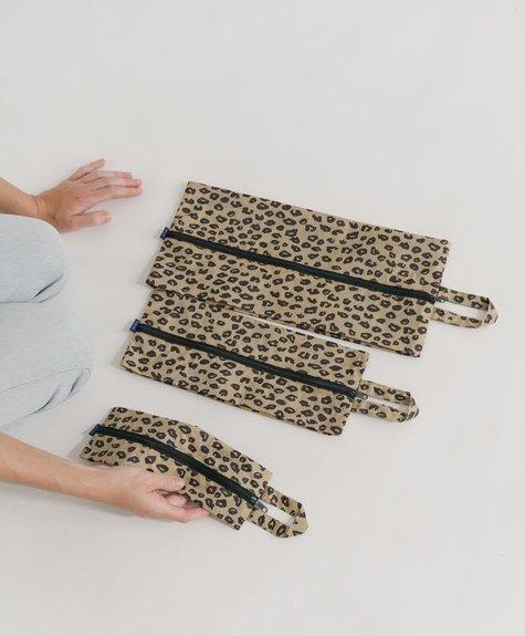 Baggu Set pochettes Baggu - Leopard