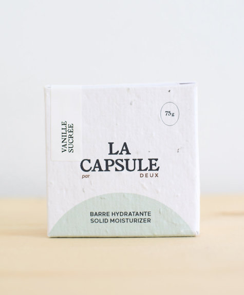 Deux Cosmétiques La Capsule Hydrating Bar- Sweet Vanilla