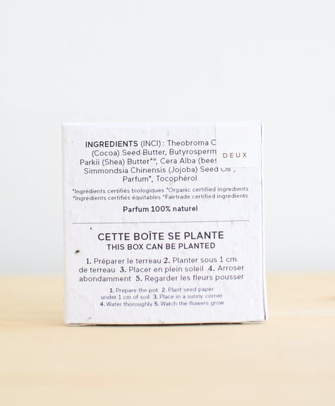 Deux Cosmétiques La Capsule Barre Hydratante – Vanille Sucrée