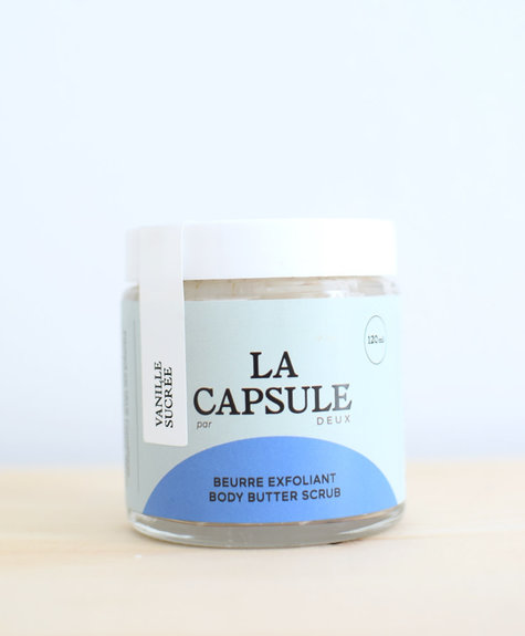 Deux Cosmétiques Body Scrub – Sweet Vanilla La Capsule
