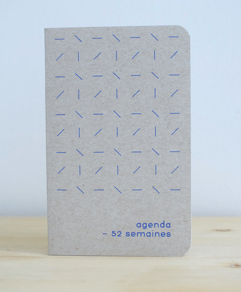 Atelier Archipel Agenda Natural + blue