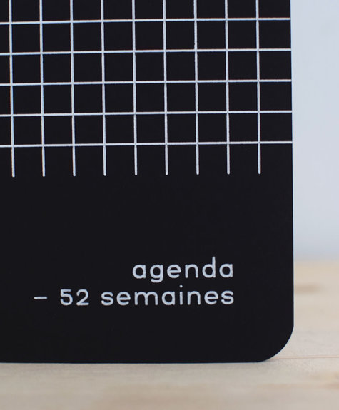 Atelier Archipel Agenda Noir
