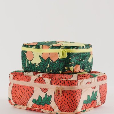Baggu Storage Cube Set - Backyard fruits