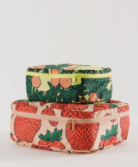 Baggu Set de cubes de rangement - Fruits du jardin