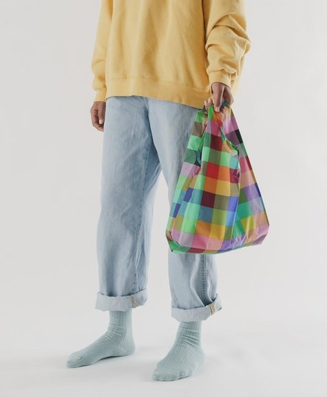 Baggu Baby Baggu Reusable bag -  Madras No.2