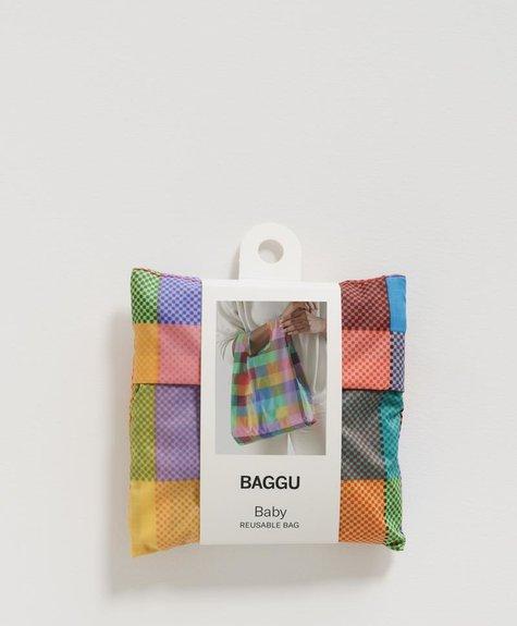 Baggu Sac réutilisable Baby Baggu - Madras No. 2