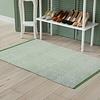 Avocado Decor Cotton rug Jason Seaweed (2'x3'; 60x91cm)