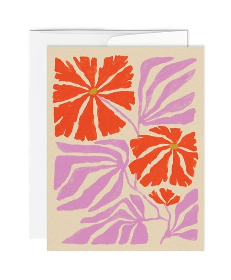 Paperole Greeting Card - English Garden