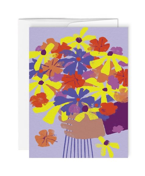 Paperole Greeting Card - Bloom