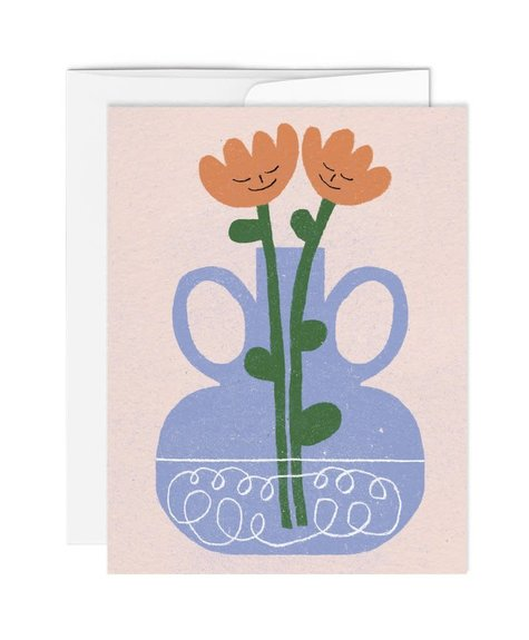 Paperole Greeting Card - Tulips