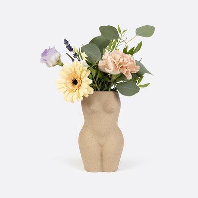 DOIY Vase corps - Blanc