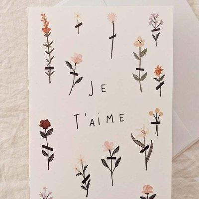 Mimi - Auguste Je t'aime fleurs