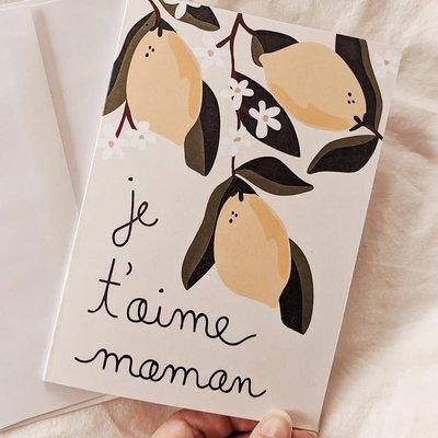 Mimi - Auguste Greeting Card - I love you Mom