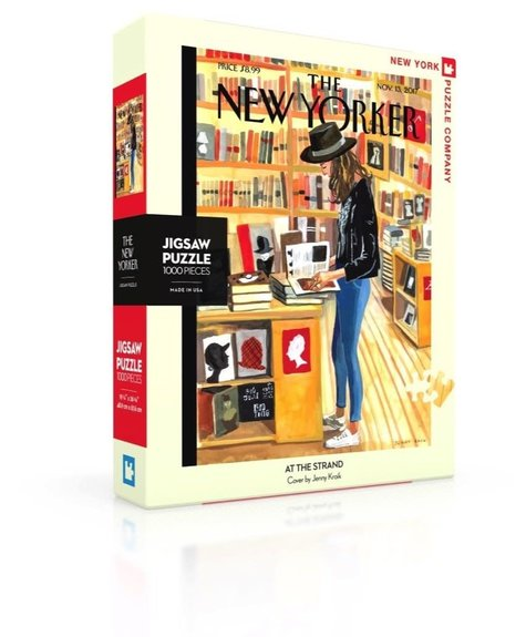Divers Bookstore The New Yorker - Puzzle (1000p)