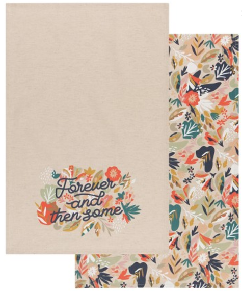 Danica Dishtowels set of 2 - Superbloom