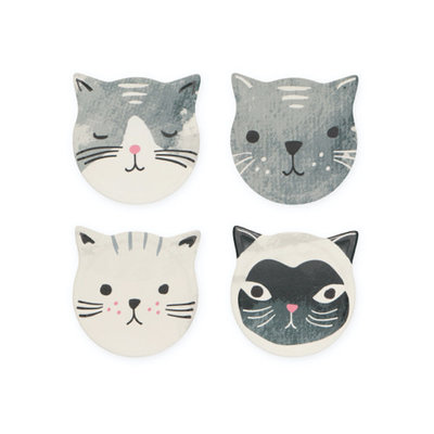 Danica Coasters - Cats (S4)