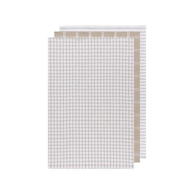 Danica Dish Towels - Tictactoe sand