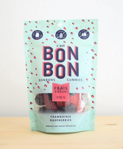 La boîte à bonbons Bonbons -  Framboises 150gr