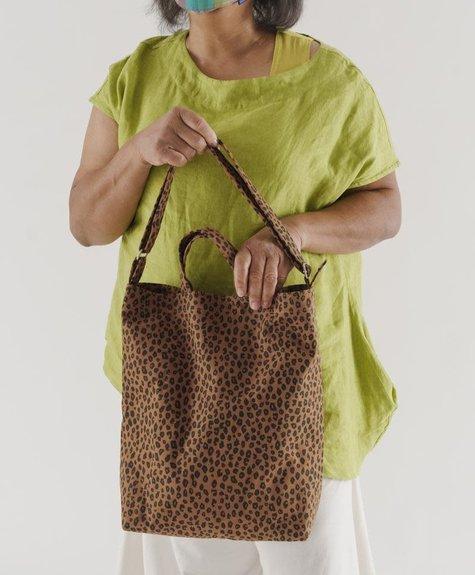 Baggu Duck Bag - Nutmeg Leopard