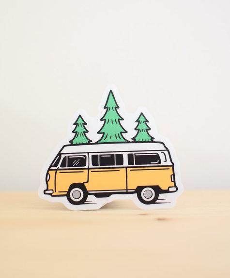 Sticker NW Sticker Bus