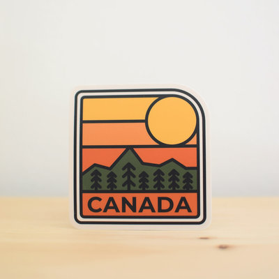 Sticker NW Canada - Sunrise